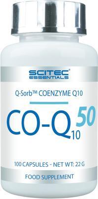 Scitec Essentials CO-Q10 50 mg, 100 Kapseln Dose