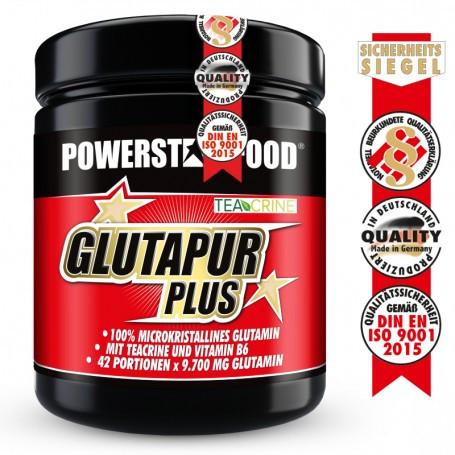 Powerstarfood GLUTAPUR PLUS - L-Glutamin Pulver - 500 g