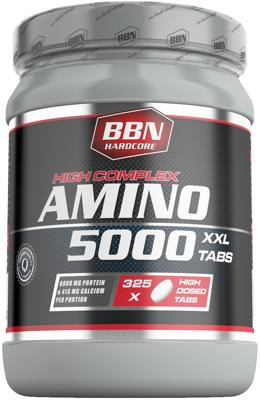Best Body Nutrition HC Amino 5000, 325 Tabletten Dose