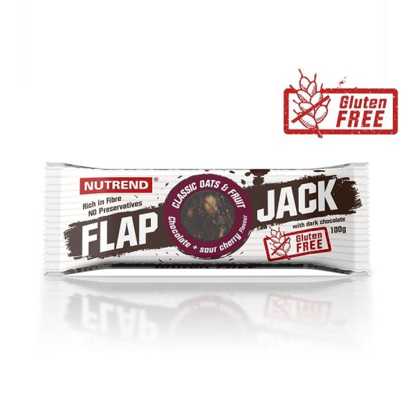 Nutrend - FLAPJACK, Glutenfrei, 20x 100 g