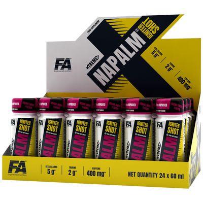 FA Nutrition Xtreme Napalm Igniter Shot - 24x60ml