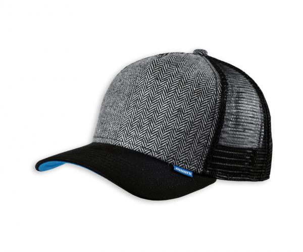 DJINNS -Trucker Cap HFT Tweed Combo