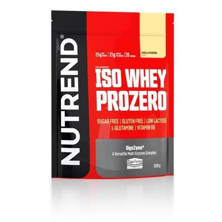 Nutrend - ISO WHEY PROZERO, 500g