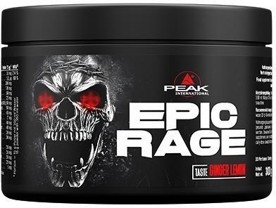 Peak - EPIC RAGE, Ginger Lemon, 300g