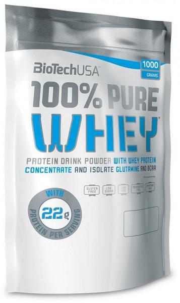 BioTech USA 100% Pure Whey, 1000 g Beutel
