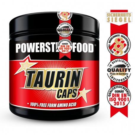 Powerstarfood TAURIN CAPS - 300 Kapseln