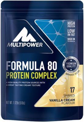 Multipower Formula 80 Protein Complex, 510 g Beutel