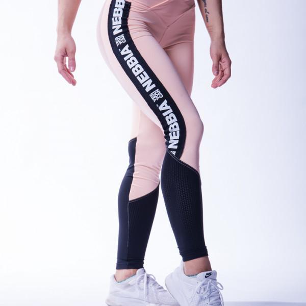 NEBBIA - High waist mesh leggings 601