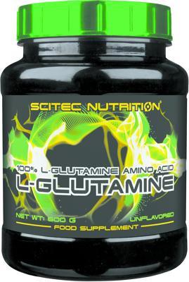 Scitec Nutrition L-Glutamin, 600 g Dose