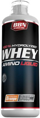 Best Body Nutrition Hardcore Whey Amino Liquid, 1000 ml Flasche