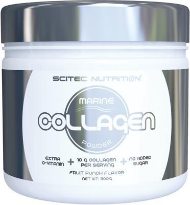 Scitec Nutrition Collagen Powder, 300 g Dose, Fruit Punch