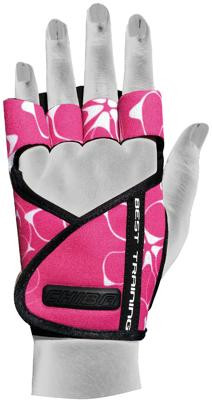 Chiba Lady Motivation Glove, Pink/Weiß/Schwarz