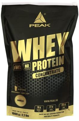 Peak - WHEY PROTEIN Concentrate, 1000 g