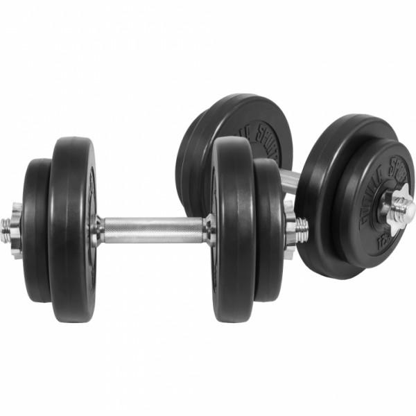 Gorilla Sports - KURZHANTELSET Kunststoff, 20 kg