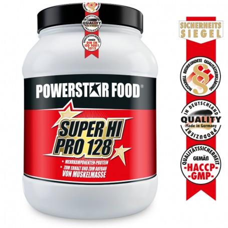 Powerstarfood SUPER HI PRO 128 - Mehrkomponenten Protein - 1200g