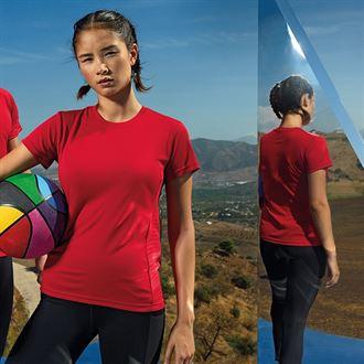Women's TriDri® Embossed Panel T-Shirt