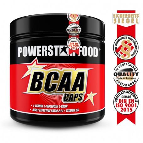 Powerstarfood BCAA CAPS - 2:1:1 - 300 Kapseln
