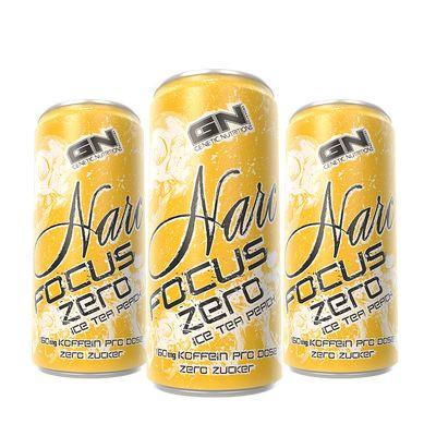 GN Narc Focus Ice Tea Peach - 24x 250ml Dosen-Copy