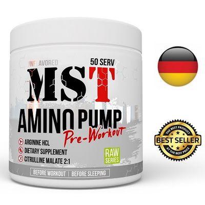 MST - AMINO PUMP, pre-workout, 300g