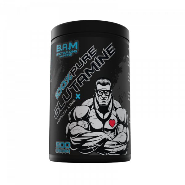B.A.M. 100% Pure L-Glutamin 500g