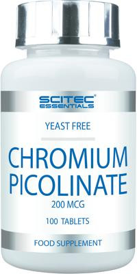 Scitec Essentials Chromium-Picolinate, 100 Tabletten Dose