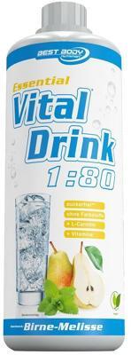 Best Body Nutrition Essential Vitaldrink, 1000 ml Flasche