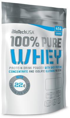 BioTech USA - 100% PURE WHEY, 454 g