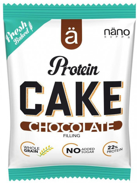 ä Näno Supps - PROTEIN CAKE, chocolate, 24 x 26 g Box,