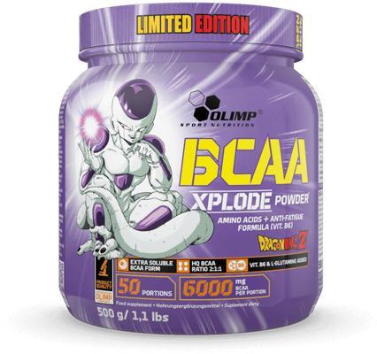 Olimp - BCAA XPLODE Powder, Dragon Ball Ltd. Edition, Forest Fruit, 500 g