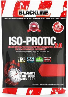 Blackline 2.0 Iso-Protic 2.0, 500g