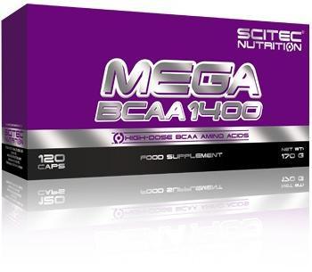 Scitec Nutrition Mega BCAA 1400, 180 Kapseln Dose