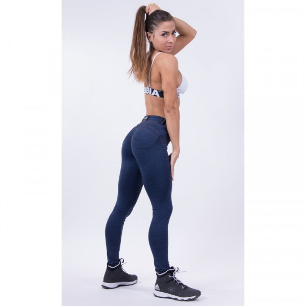 NEBBIA - BUBBLE BUTT PUSH UP MODEL N251 BLAU