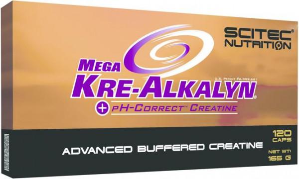 Scitec Nutrition Mega Kre-Alkalyn, 120 Kapseln