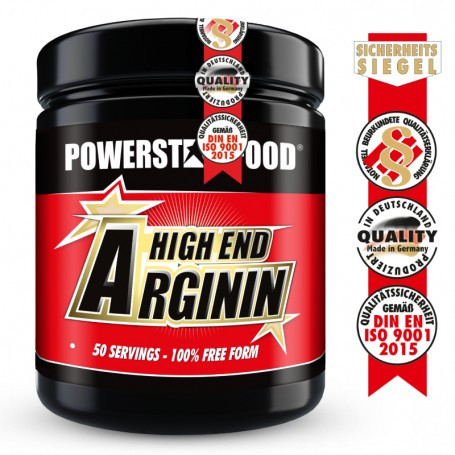 Powerstarfood ARGININ HIGH END - L-Arginin Pulver - 500 g