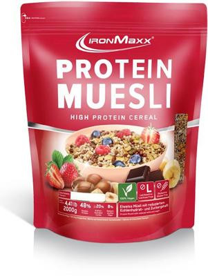 IronMaxx Protein Müsli, 2000 g Beutel