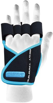Chiba Lady Motivation Glove, Schwarz/Türkis