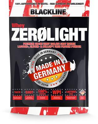 Blackline 2.0 Whey Zerolight Isolat, 750 g Beutel