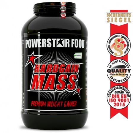 Powerstarfood HARDGAIN MASS 2.0 - Weight Gainer Shake - 3600 g