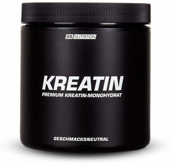 OS NUTRITION Premium Kreatin-Monohydrat, 400g Dose