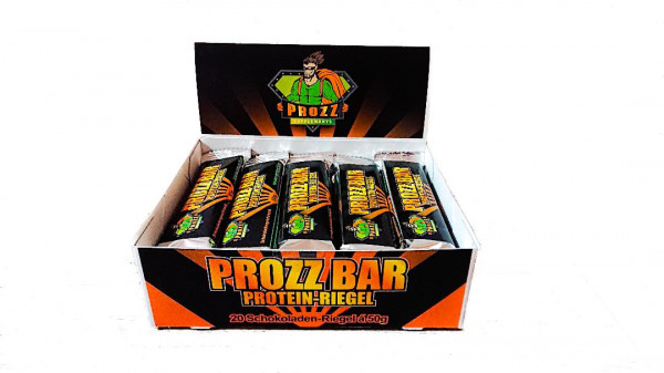 PROZZ BAR - 50 % Protein Riegel 20 x 50g