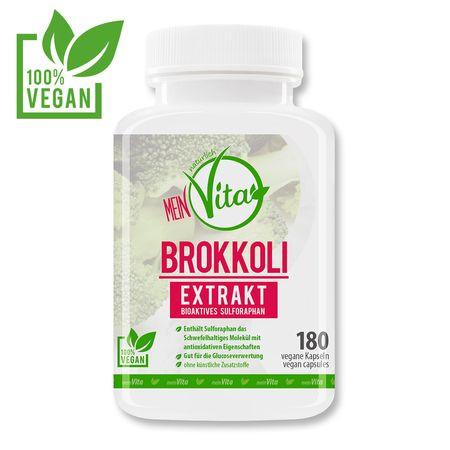 MeinVita Brokkoli Extrakt - 1000 mg (Tagesportion), 180 Kapseln