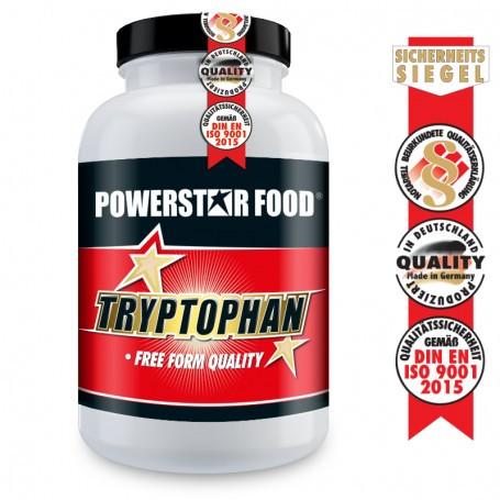 Powerstarfood TRYPTOPHAN - L-Tryptophan hochdosiert - 100 Kapseln vegan