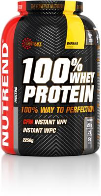 Nutrend 100% Whey Protein, 2250 g Dose