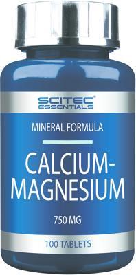 Scitec Essentials Calcium-Magnesium, 100 Tabletten Dose