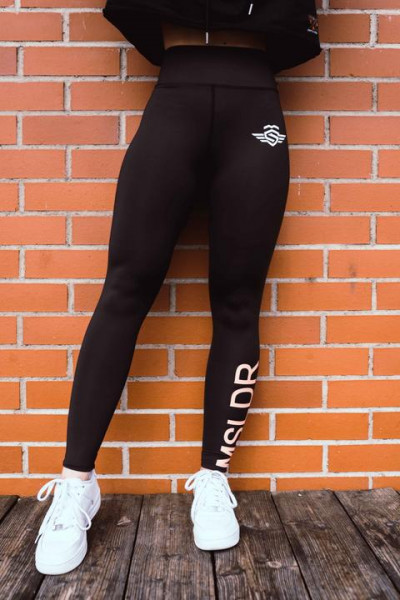 MASSIVE SOLDIER -MSLDR LOGO LEGGINGS