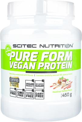 Scitec Nutrition Pure Form Vegan Protein, 450 g Dose
