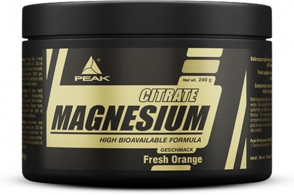 Peak - MAGNESIUM CITRATE, Powder, 240 g