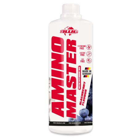 BWG - AMINO MASTER, Amino Liquid mit Vitamin B6, 1000ml