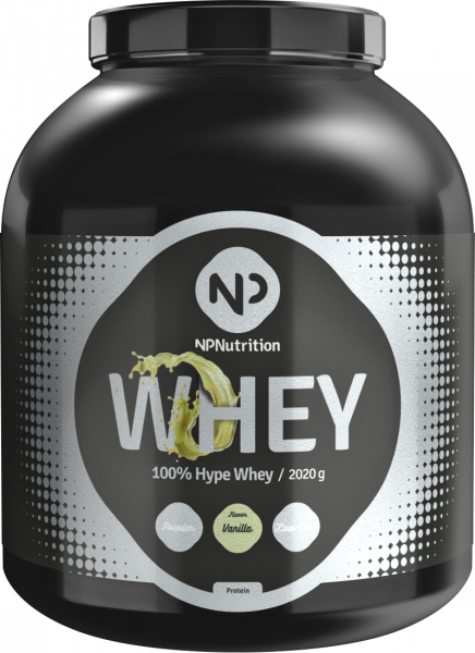 NP Nutrition - 100% Hype Whey, 2020g