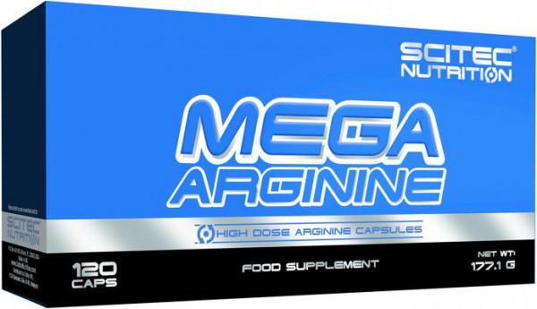 Scitec Nutrition Mega Arginine, 120 Kapseln Blister
